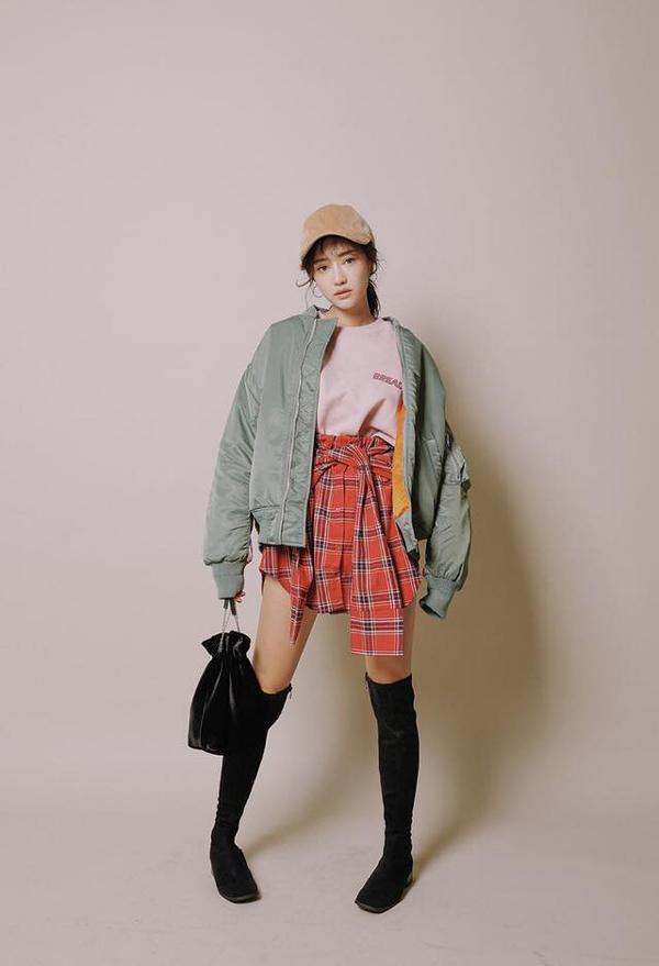 áo khoác 2018 cho cô nàng thấp bé