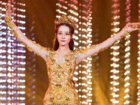 Địch Lệ Nhiệt Ba hóa Nữ thần Kim Ưng: xinh thật đấy, nhưng múa thế này thì ai mê nổi
