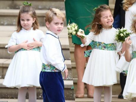 Đám cưới cô họ nhưng Công chúa Charlotte và Hoàng tử George mới là tâm điểm chú ý