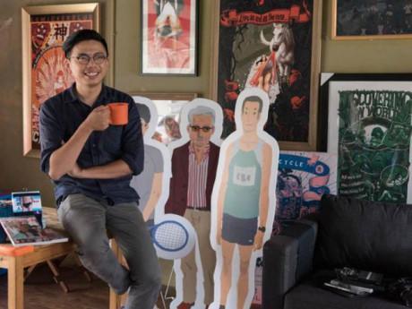 Bố đơn thân chia sẻ cuộc sống bỉm sữa qua những bức tranh nổi tiếng mạng xã hội