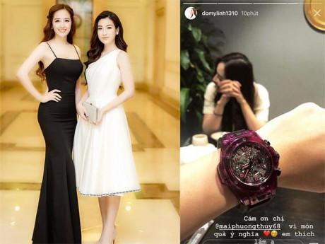 Ai đại gia như Mai Phương Thuý, tặng hẳn đồng hồ tiền tỷ mừng sinh nhật Đỗ Mỹ Linh?