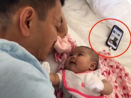 Khoe clip con gái hóng chuyện với bố, Thanh Thảo bị bắt lỗi làm điều nguy hiểm cho con