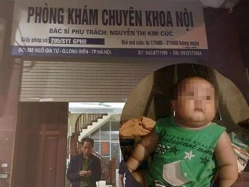 Bé trai 22 tháng tuổi tử vong tại phòng khám tư: Cháu bé được bác sĩ truyền loại dịch gì?