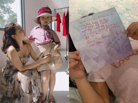 Con gái vừa vào lớp mới đã được bạn gửi thư, Phạm Quỳnh Anh đọc xong thì...ngã ngửa