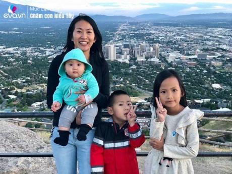 Cõng con 7 tuần tuổi đi khắp 3 châu lục, mẹ Việt từng ôm con nhập viện giữa đêm