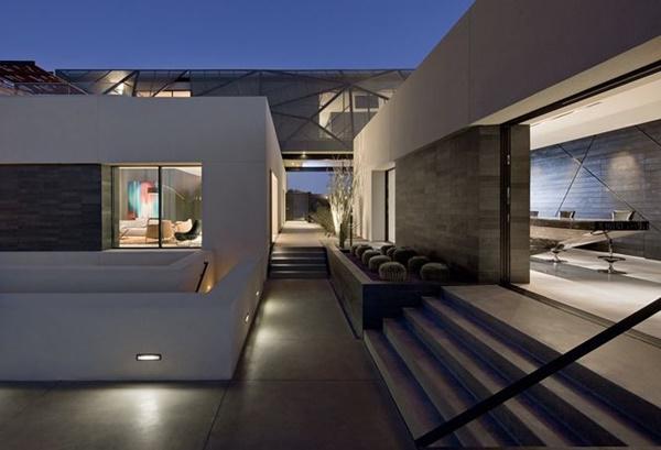 Ngôi nhà tuyệt đẹp mọc lên giữa mênh mông amp;#39;biển cátamp;#39; - 13