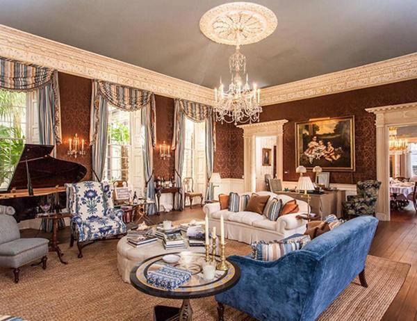 Siêu biệt thự 200 năm tuổi, từng thuộc sở hữu của cháu gái Tổng thống - 13