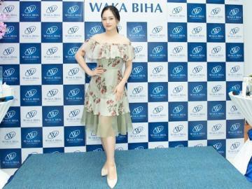 Diễn viên Lan Phương tin tưởng sản phẩm dưỡng trắng da Waka Biha