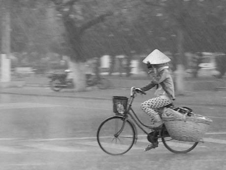 Lương thực tiếp tế của người mẹ chồng đạp xe 4km để đưa tận tay con dâu bầu