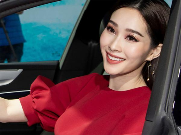 Xinh dep la the, HH Dang Thu Thao van bi cac thanh soi tam tia boi loi trang diem nay