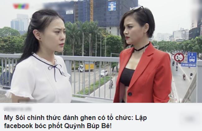 """khong phai my soi, chinh quynh bup be da dang clip bi danh ghen va boc """"phot"""" minh len mang? - 1"""