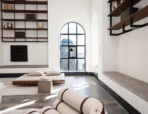 Choáng với căn hộ áp mái nghìn tỷ có phòng khách rộng ngang một bảo tàng - 8