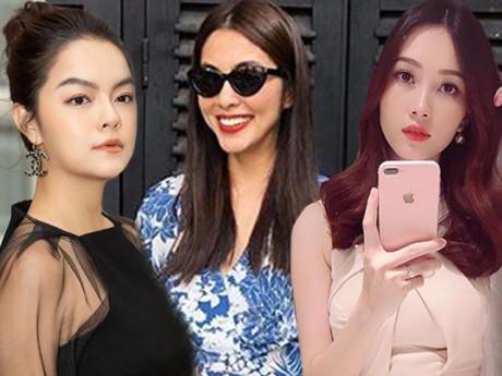 """Muốn biết màu son nào """"lên ngôi"""" cuối năm, theo dõi ngay hội các mẹ sành điệu nhất showbiz Việt"""