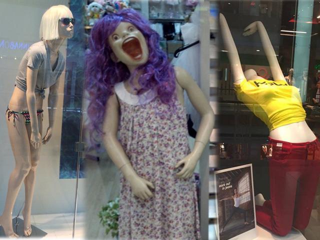 Chị em vừa ôm bụng cười, vừa thót tim khi đi mua hàng mà gặp ngay mẫu xịn cỡ này!