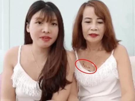 """""""Cưới"""" vợ hai cho chồng, cô dâu 62 tuổi lộ hình xăm chất chơi ở thềm ngực"""