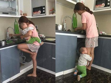 """""""Đàn ông có hai bầu sữa, kiểu gì cũng hết khinh vợ ở nhà chăm con"""" hút nghìn like"""