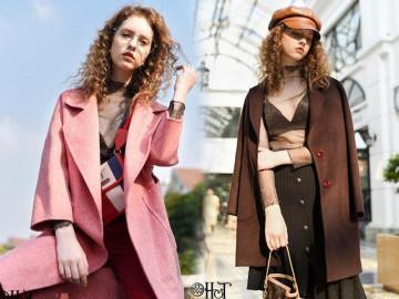 Dạ khâu tay - Nét sang chảnh cho các quý cô từ thời trang H&T