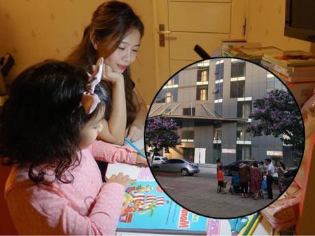 MC Diệp Chi hoảng sợ kể chung cư cô ở có bé 5 tuổi rơi từ ban công tầng 7