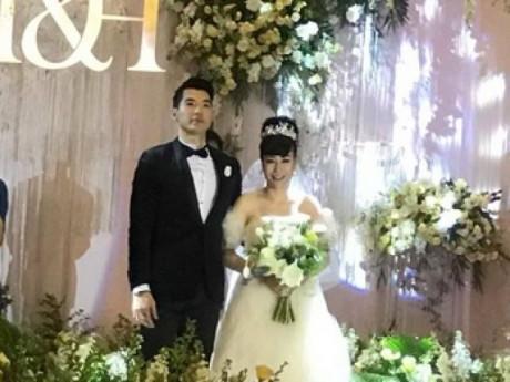 Lộ ảnh hiếm hoi trong đám cưới của Trương Nam Thành và vợ đại gia
