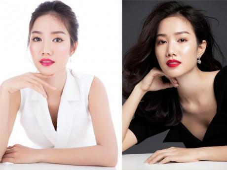 Hồng Tuyết - mỹ nhân gây tiếc nuối nhất Hoa hậu Việt Nam đẹp nao lòng với váy trắng đen