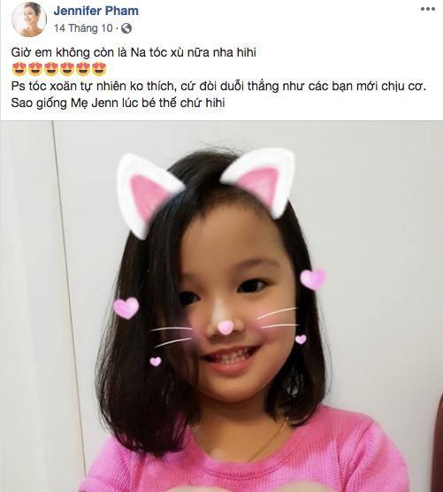 Lau khong gap, giat minh vi con gai Jennifer Pham da tro thanh my nhan giong me