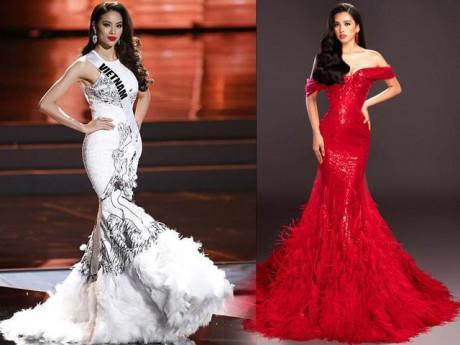 Hoành tráng hay rườm rà, đây cũng là mẫu váy khiến Mỹ Linh, Tiểu Vy quyết diện bằng được!