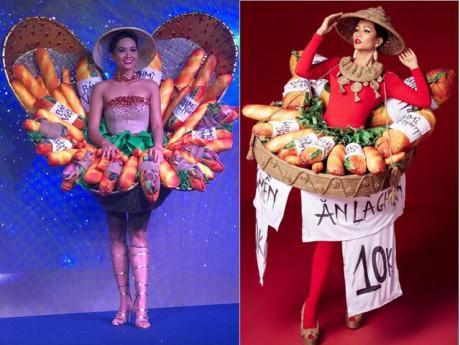 HOT: Ngày ấy đã đến, Bánh Mì... chính thức trở thành quốc phục của H' Hen Niê tại MU 2018
