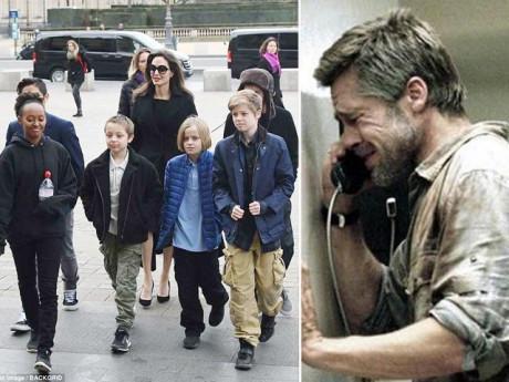 12 năm yêu nhau, 2 năm làm vợ chồng, đây là lần đầu tiên Brad Pitt cầu xin Angelina Jolie