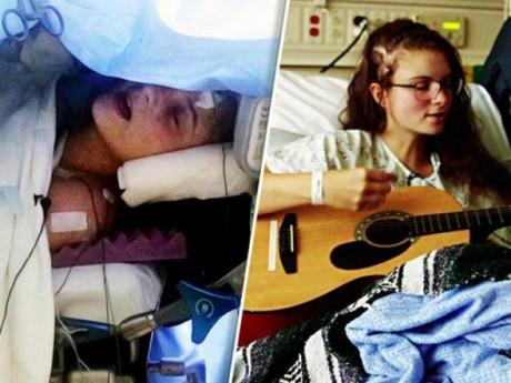 Trời ơi tin được không: Nữ bệnh nhân hát trong khi phẫu thuật não