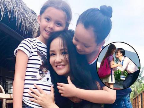 Hậu ly hôn, Diva hàng đầu VN Hồng Nhung giờ cần mẫn đi thu tiền từng phụ huynh lớp con