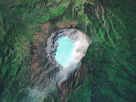 Trố mắt với những cảnh tượng tuyệt đẹp khắp thế gian được nhìn qua vệ tinh