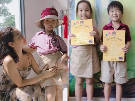 Giật mình: Đã 6 tuổi được mời lên lớp 2, con gái Phạm Quỳnh Anh còn giỏi nhất nhì lớp
