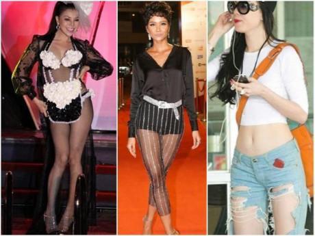 """Khóc thét trước những chiếc quần """"tai hại"""", có cho cũng không ai dám mặc của sao Việt"""