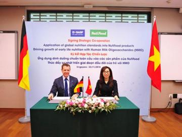 NutiFood - công ty sữa Việt đầu tiên hợp tác với tập đoàn châu Âu lớn ứng dụng HMO