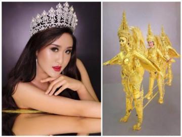 """""""Bánh mì"""" của H'Hen Niê đã là gì, nhìn trang phục dân tộc của mỹ nhân Lào mà... lo thay!"""