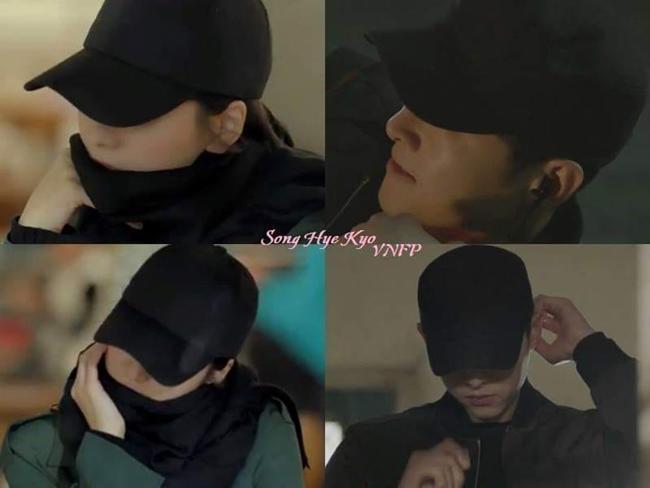 "phat hien thu vi: song hye kyo ""trom"" mu ong xa di hen ho cung ""tinh tre"" - 4"
