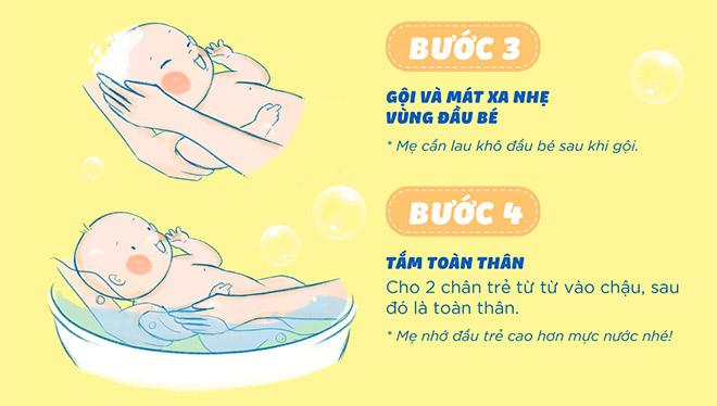 7 buoc tam tre so sinh dung chuan chuyen gia - 4