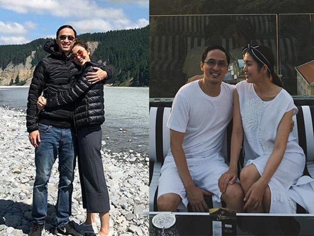 Tăng Thanh Hà và chồng hạnh phúc, một phần là nhờ vào cách ăn mặc thuận vợ thuận chồng