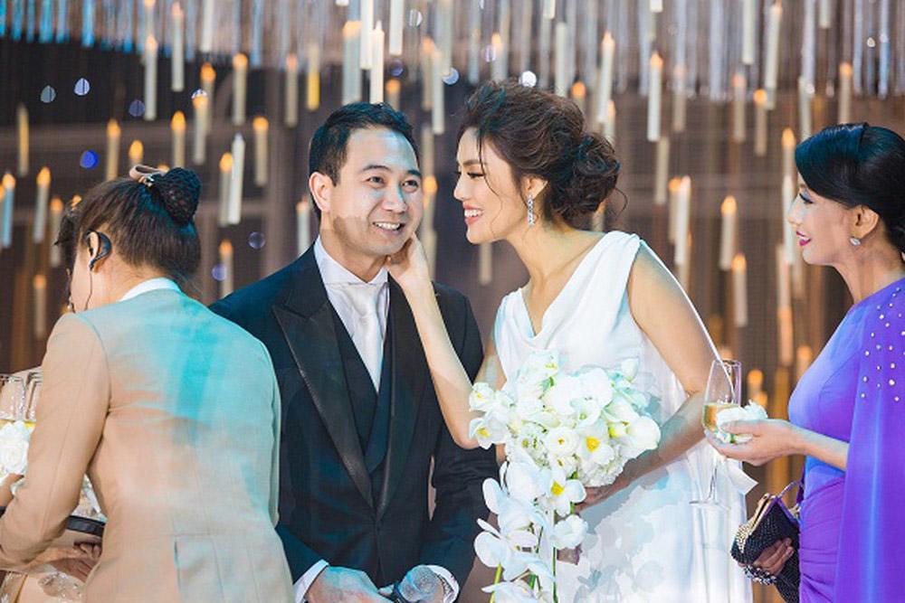 sau 2 thang lay chong, cuoc song hon nhan cua lan khue va ong xa dai gia gio the nao? - 1