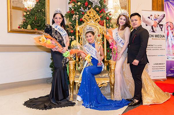 doanh nhan nina phuong dang quang a hau 1 mrs viet nam intercontinental 2018 tai canada - 9