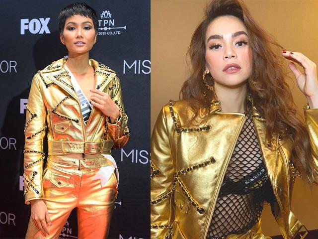 HHen Niê và Hồ Ngọc Hà, khi Hoa hậu bình dân đụng hàng biểu tượng thời trang