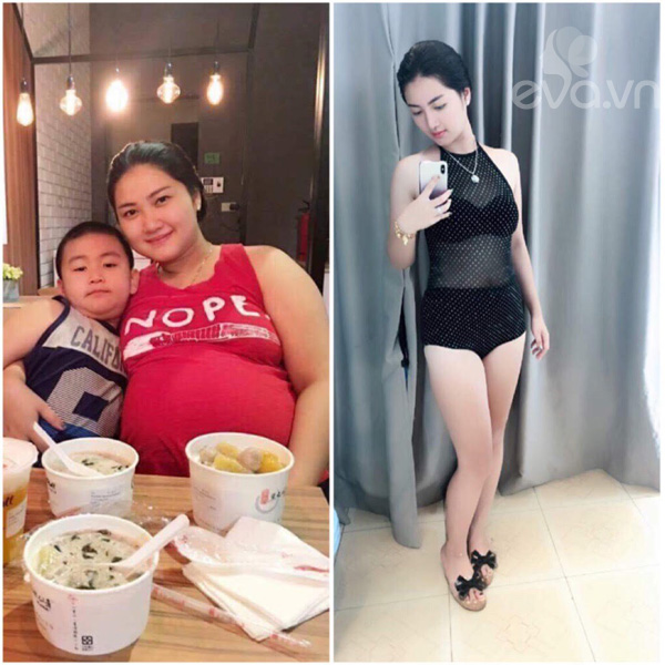 "giam 21kg sau sinh khong an kieng, ba me tre ""gay sot"" boi sac voc hoan hao - 5"