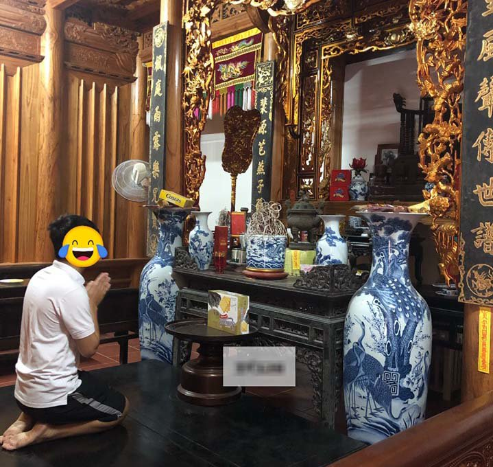 "den gio com vo van di choi, chong truong ho cam dao roi hanh dong khien ai cung ""het hon"" - 3"
