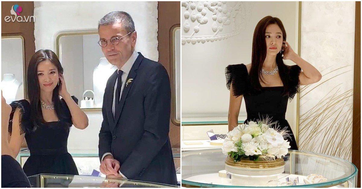 Song Hye Kyo nói 2 lời: Đòi hủy hoạt động tưởng nhớ Sulli nhưng vẫn xinh đẹp đi sự kiện