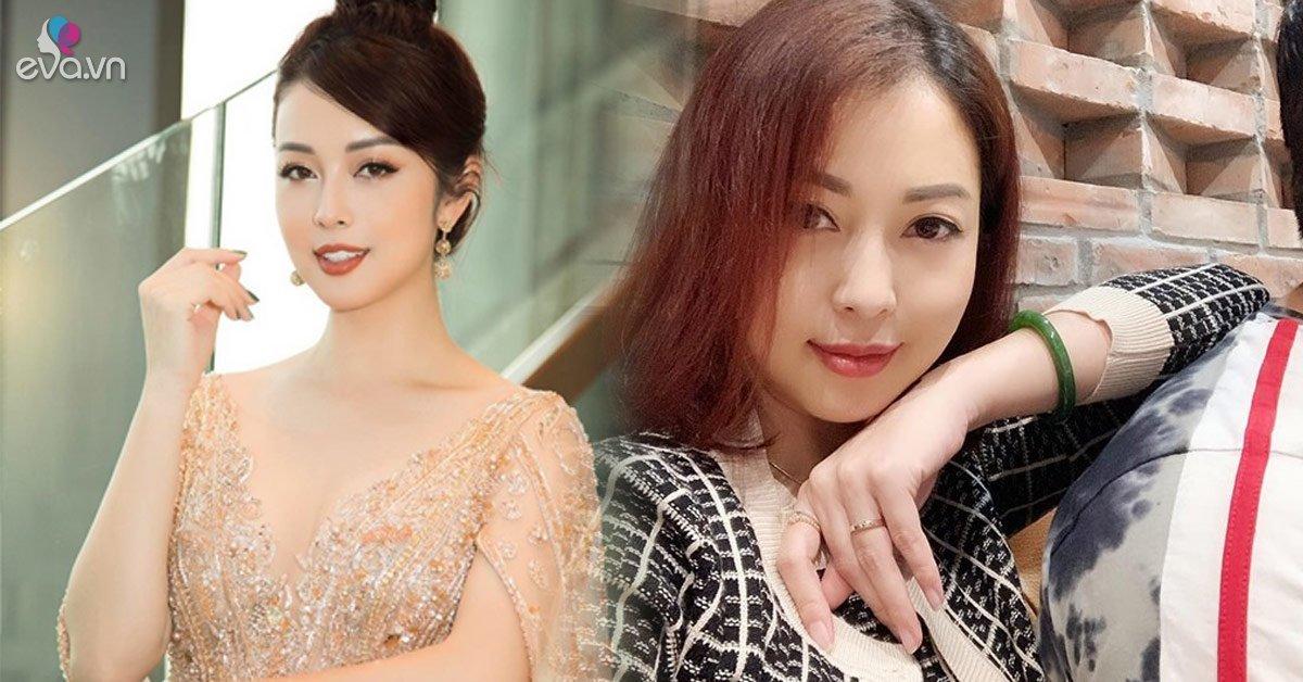Tái xuất sau ít tháng vắng bóng, Jennifer Phạm mới bầu hơn 2 tháng mà mặt đã tròn xoe
