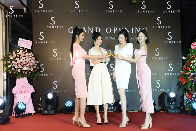 ngoc han, tu anh mung sohee khai truong showroom nam dinh - 1
