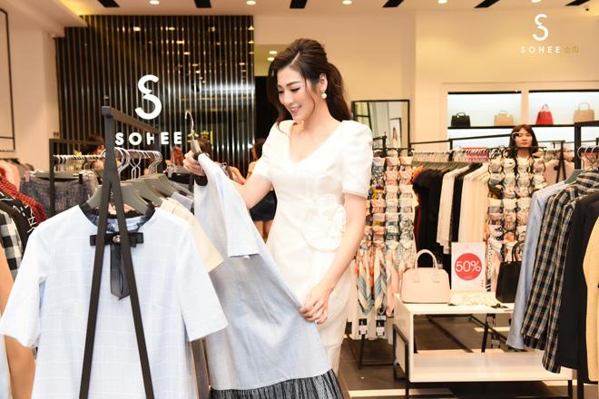 ngoc han, tu anh mung sohee khai truong showroom nam dinh - 4