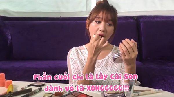 Cười bể bụng với màn hướng dẫn make up kiểu Hàn Quốc amp;#34;một mất một cònamp;#34; của Hari Won - 8