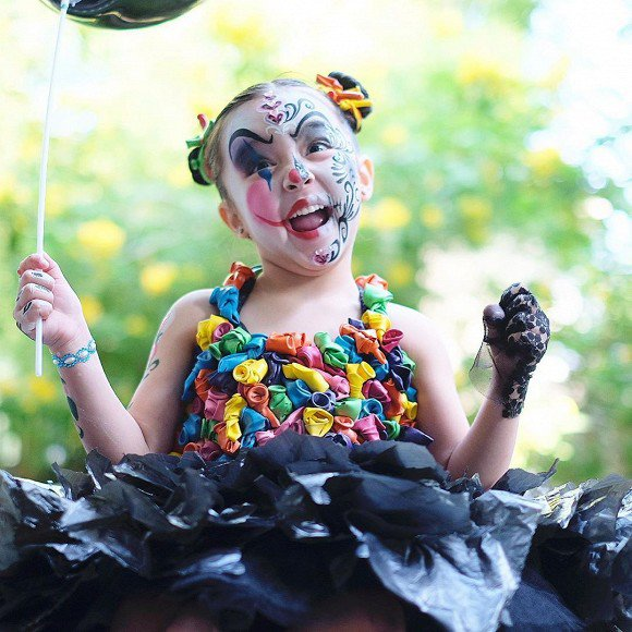 hoa trang halloween an tuong, con gai my nhan philippines duoc truong ra quyet dinh dac biet - 3