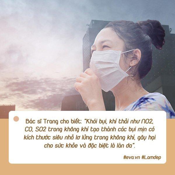 Khi ô nhiễm không khí đạt đỉnh, đây là những vấn đề mà da bạn có thể phải đối mặt - 1